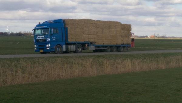 Anton Ponne transport vrachtwagen fourage